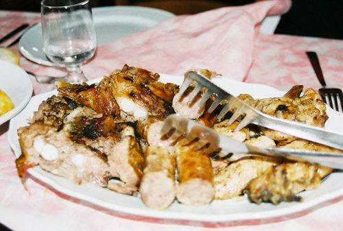 Roasted meats